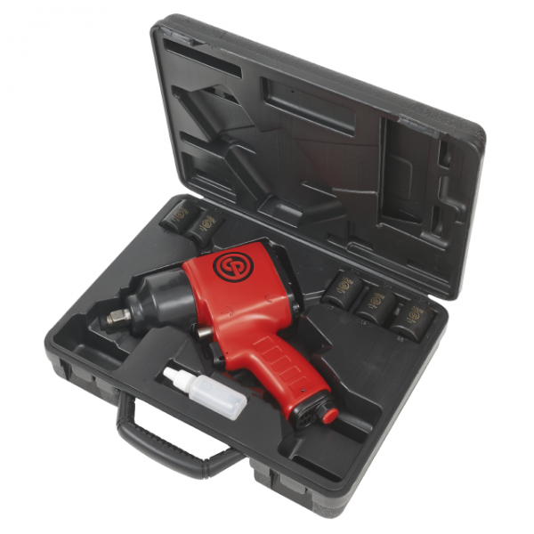 """CP7620 Chicago Pneumatic 1/2"""" Impact Wrench KIT"""