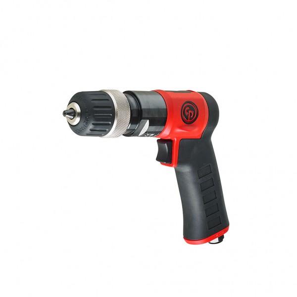 "CP9287C 10mm (3/8"") Keyless Chuck Pistol Drill Chicago Pneumatic"