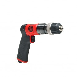 "CP9792C 10mm (3/8"") Reversible, Keyless Chuck Pistol Drill Chicago Pneumatic"